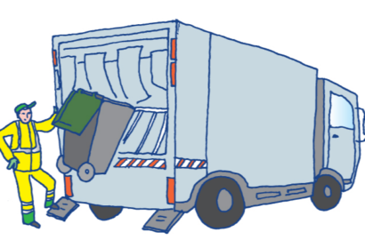 Calendrier des ordures ménagères et du tri sélectif